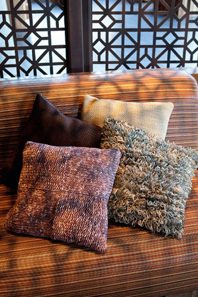 Easy Knitting Patterns Knit Cushion Cover In Stockinette Stitch