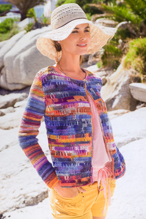 knit and crochet jacket