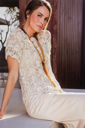 top in lace pattern