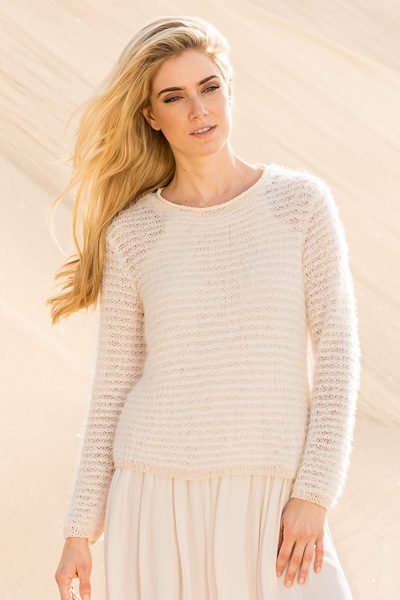 knit pullover - knitting pattern