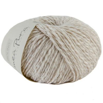 Yarn for Knitting and Crochet - Lana Grossa Biolino, natural color